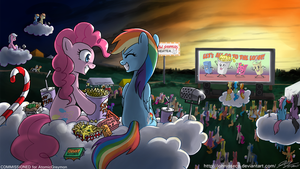 Night at the Trot-In by johnjoseco