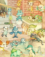 21 Starter Pokemon