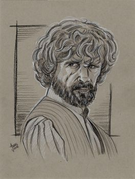 Tyrion Lannister Sketch by AtlantaJones