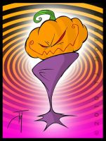 The Great Ricky's Pumpkin by elasticdragon