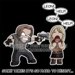 LEON HELP by mordennight