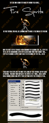 Fire Sprite Tutorial by Sh3ndo
