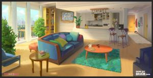 <b>Environment Design For A Visual Novel Game</b><br><i>Nimphradora</i>