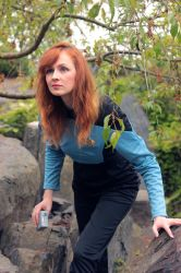 Dr. Crusher on a mission by Ta-moe