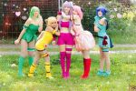 tokyo mew mew cosplay by Deadelmale