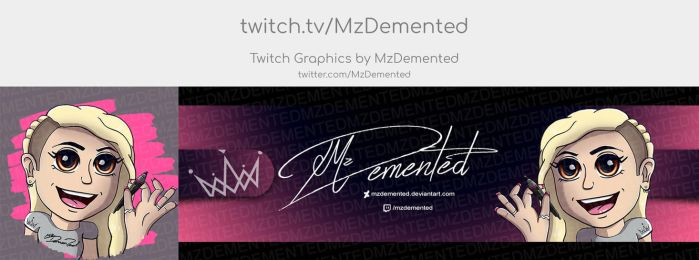 Twitter Set for myself by MzDemented
