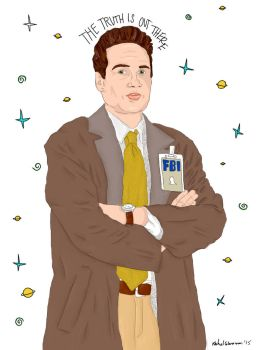 MULDER - THE TRUTH IS OUT THERE by LovegoodTardis