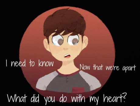 Thomas Sanders- The things we used to share by Violetathedog