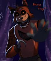 FNAF - Wanna Play?  by Atlas-White