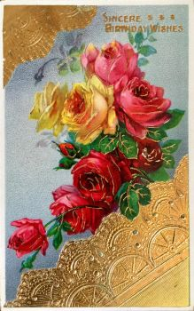 Gold and Roses by Yesterdays-Paper