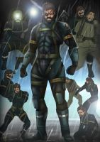 Metal Gear Solid V: Ground Zeroes by MatthewHogben