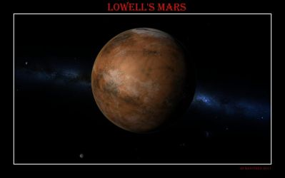 Lowell's Mars by dragonpyper