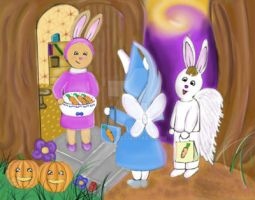 Trick or carrot by Tosita