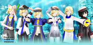 MMD Oliver vocaloid models-tda by Rubifanfic Proye by rubifanfic