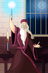 Patreon Request 2 - Dumbledore by OwenOak95