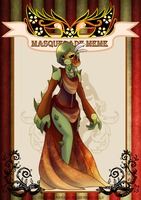 c-d | Freedom? Event: Jacqueline masquerade by Delayni