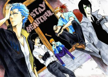 BLEACH: Stay beautiful by Sideburn004