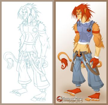 Lion-O by Featherpile