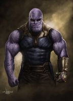 Thanos by JPKegle