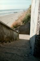 Beach Stairs II by isaacsflower