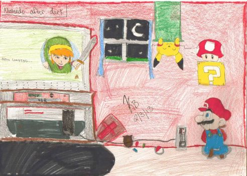 TheCpten's Contest Entry ''Nintendo After Dark'' by pikachupokemon123