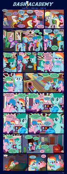 Dash Academy Chapter 7 - Free Fall #12 by SorcerusHorserus