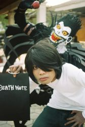 L and Ryuk by yanthemonster
