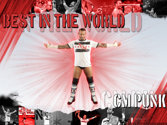 Cm Punk - 2 Wallpaper by DecadeofSmackdownV3