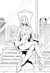Unused White Queen cover 1 by RandyGreen