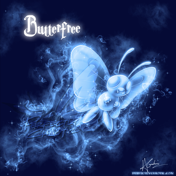 Butterfree Patronus by TheVirusAJG