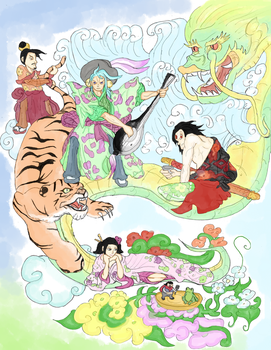 Chinese Fairytale by EvilTelephone