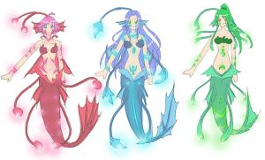 Deep Sea Mermaid Designs by Autumnology