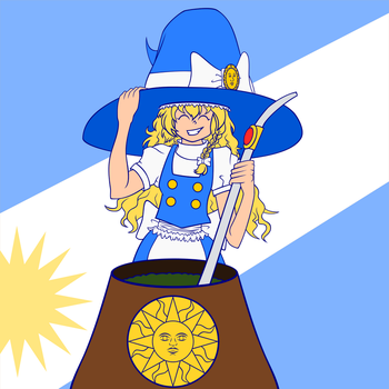 Simple Argentinian Marisa by FlamerXMagofire