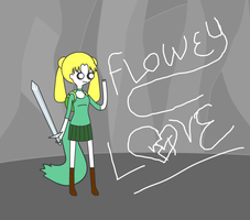 Flowey - Love by G0LDFREDDY