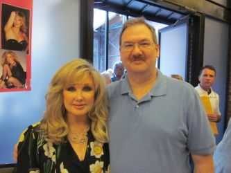 Morgan Fairchild and I 2 by wemayberry
