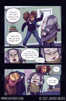 Kay and P: Issue 20, Page 26 by Jackie-M-Illustrator