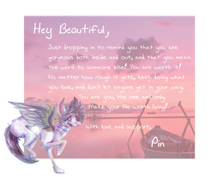 You mean the world to me by pinvvheel