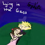 Lying in the Grass by AGirlFromDistrict3