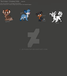 Coalloas - CharacterBoard by JB-Pawstep