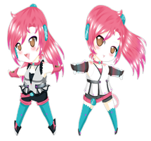 .:UTAU:. Aika Heion + Append by A-Daiya