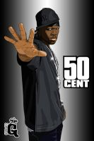 50 Cent by madglynqs