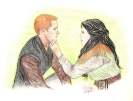 Charming and Snow by Jen7waters
