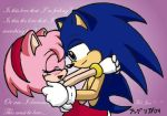 Is This Love? - Sonamy by ryukodragon