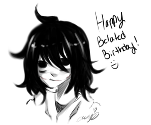 happy belated birthday sis by Ainumi