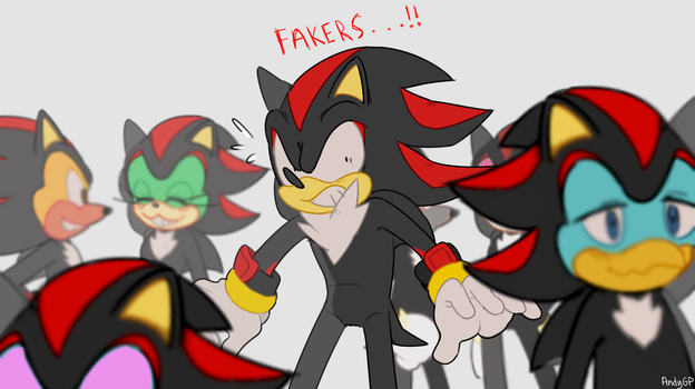 fakers!!!! by aandygp
