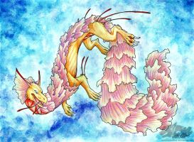 Sea Nettle Dragon by Arborpunk