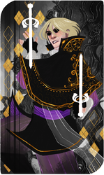 Commission :Tarot Card The Two of Swords by AlexielApril