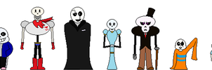 The Skelefont Family by SirNopeAlot-Central