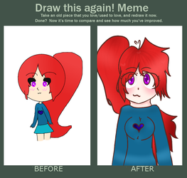 Meme  Before And After  by CherryHauntter