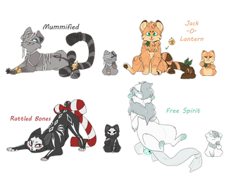 [CLOSED] Halloween purrcies! by Tinnypants